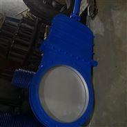 PZ573H伞齿轮刀形闸阀