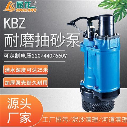 KBZ耐磨抽砂泵 恶劣工况强力抽沙清淤排污泵
