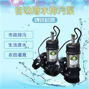 中國臺灣捷埃斯380V三相4寸立式排污潛水泵