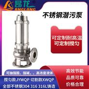 WQP耐強酸強堿潛水電泵 固定式DN100不銹鋼